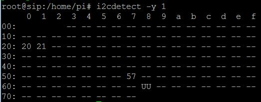 I2C Output after reboot